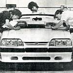 1988 Saleen Mustang, LA Times