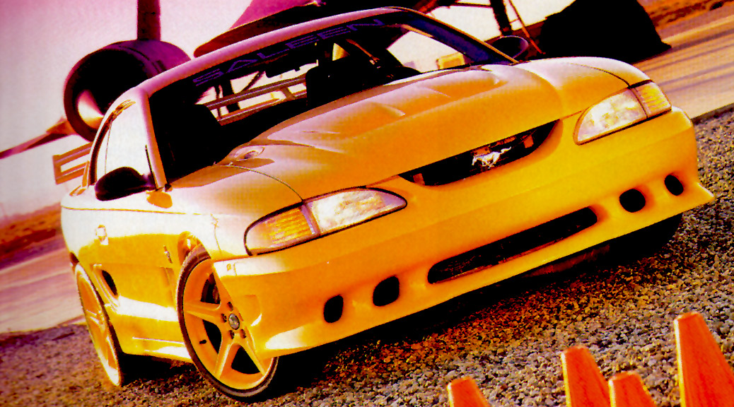 Motor Trend: 1994 Saleen SR Road Test