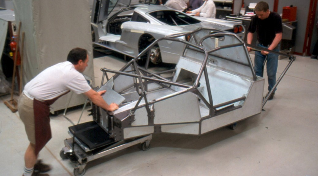 2001 Saleen S7 Chassis