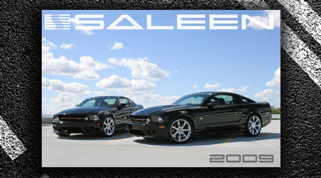 2009 Saleen Mustang line