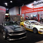 Booth is all ready to go for the SEMA show starting tomorrow morning.