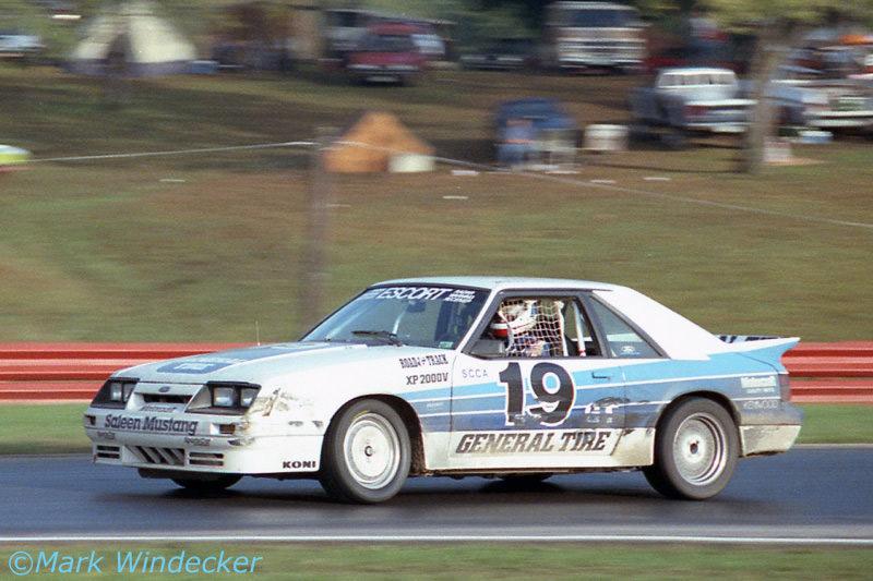 Rick Titus Saleen Autosport 1986