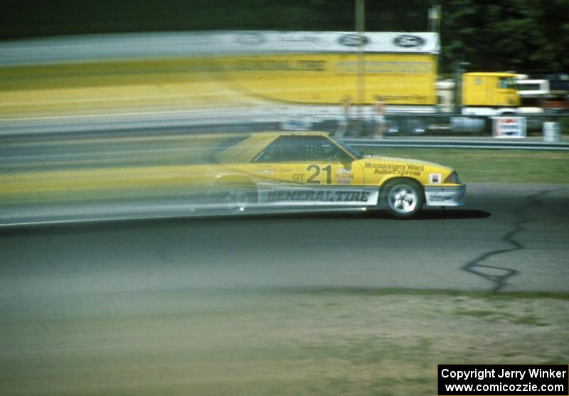 Rick Titus Saleen Autosport 1988