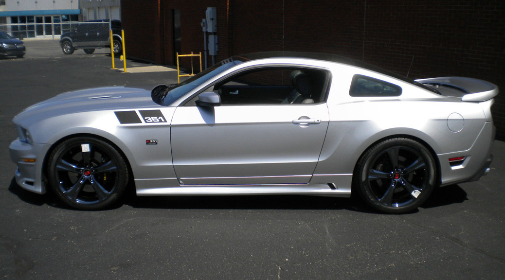 Chrome Molly 351 Lands At Campbell Ford Saleen Owners