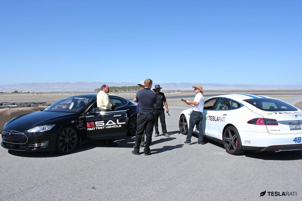 2014 Saleen Tesla Testing