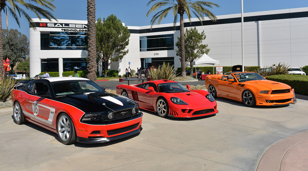 Saleen First Quarter Report