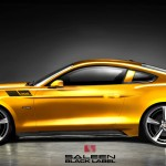 The 2015 Saleen 302 Mustang - Rendering Side View
