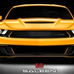 The 2015 Saleen 302 Mustang - Rendering Front View