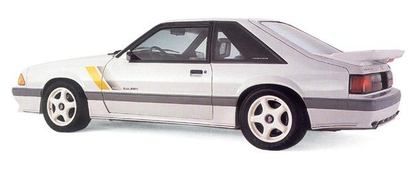 1989 Mustang SSC