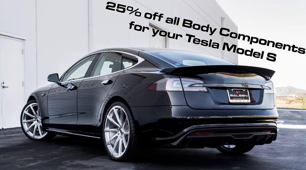Saleen Tesla Styling Sale