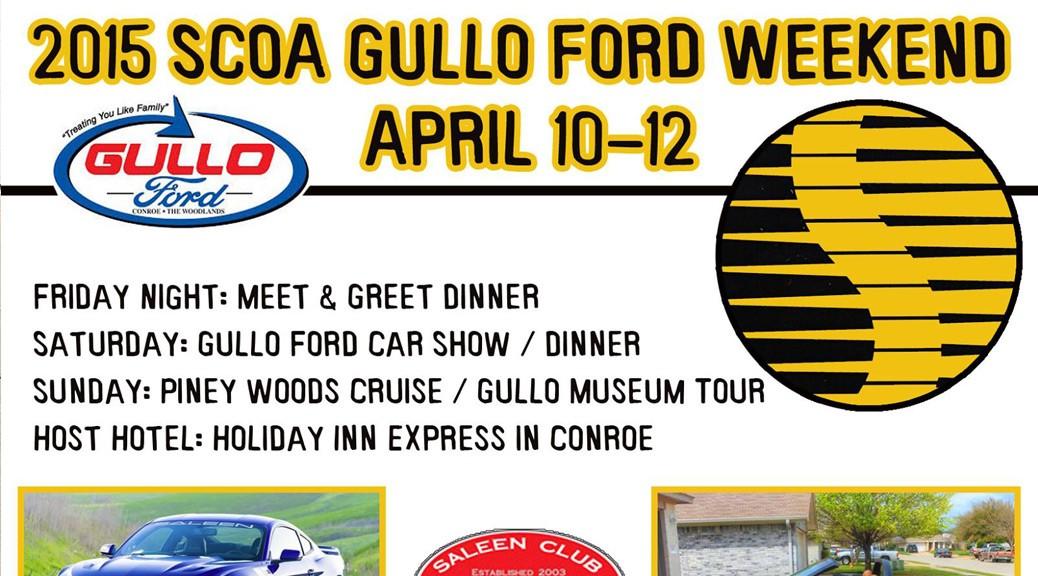 2015 SCOA Gullo Ford Show