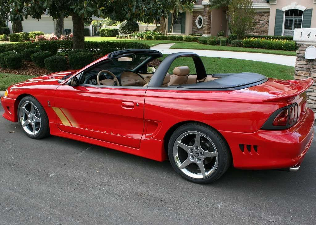 1997 s281 cobra convertible 97 0180 offered on ebay saleen owners and enthusiasts club. Black Bedroom Furniture Sets. Home Design Ideas