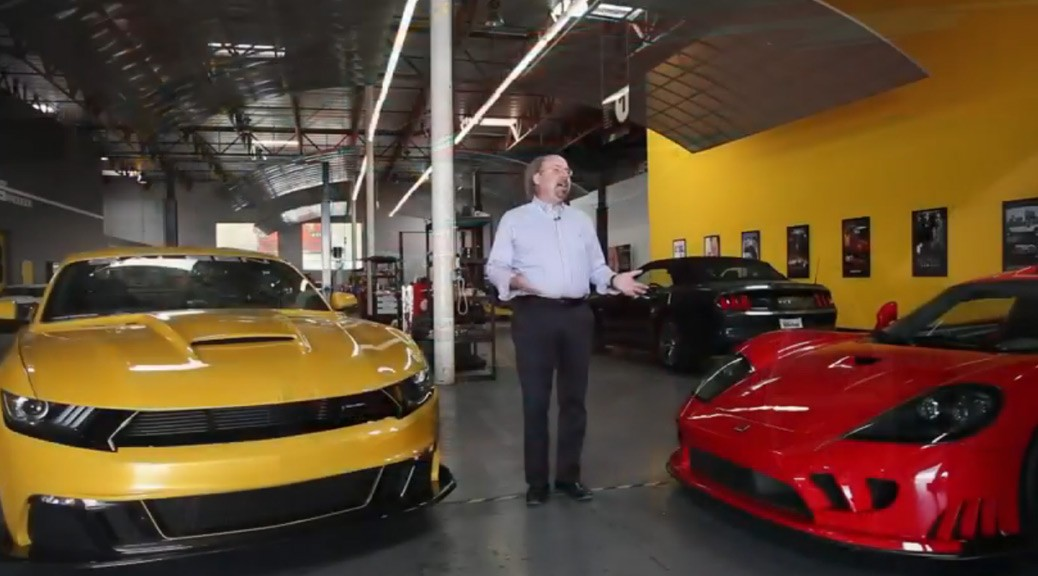 Inside Saleen Automotive Preview