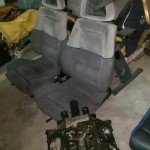 Correct 1990-91 Saleen SC seating located.