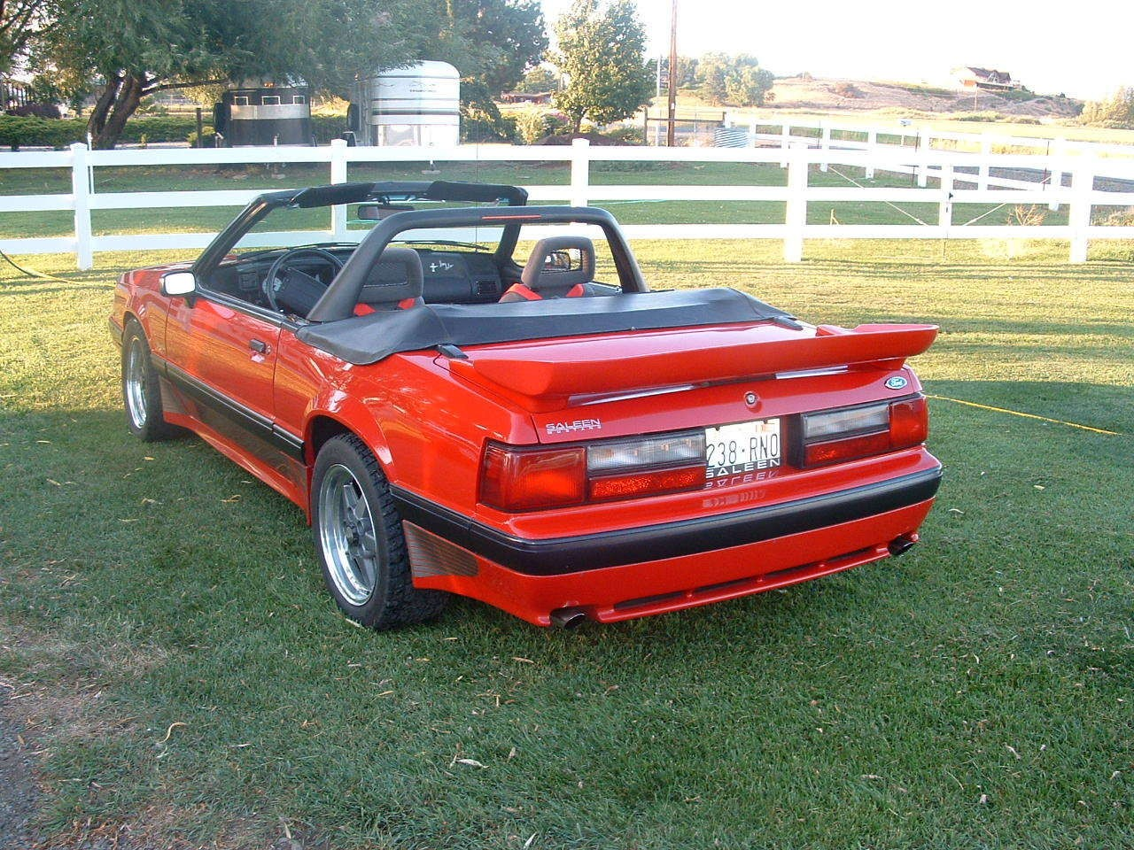 1991 Convertible 91 0066 Offered On Ebay Saleen Owners