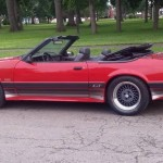 86-0083 Saleen Mustang convertible - Today