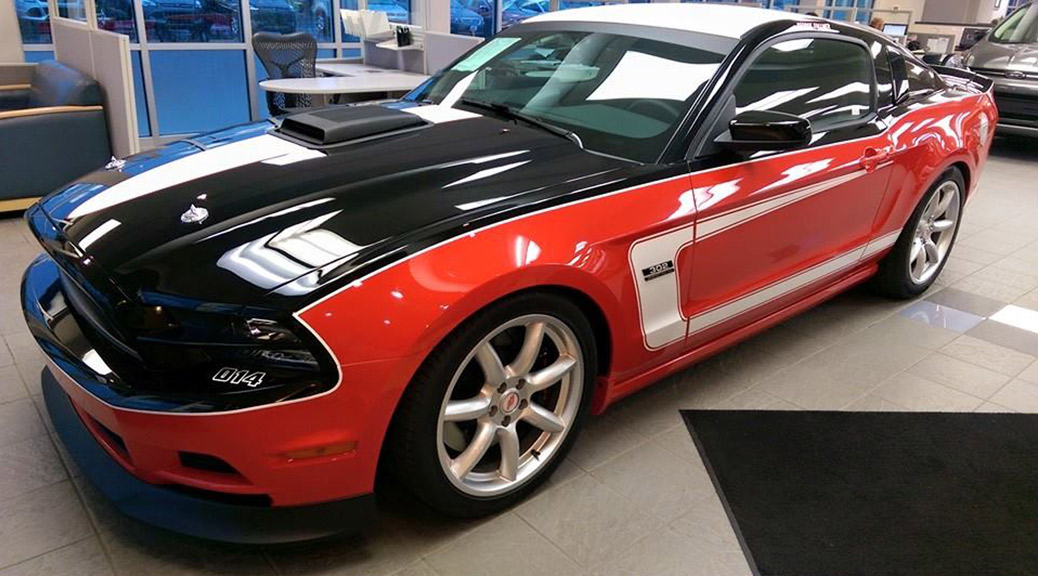 14-014 Saleen/Follmer Edition arrives at Campbell Ford