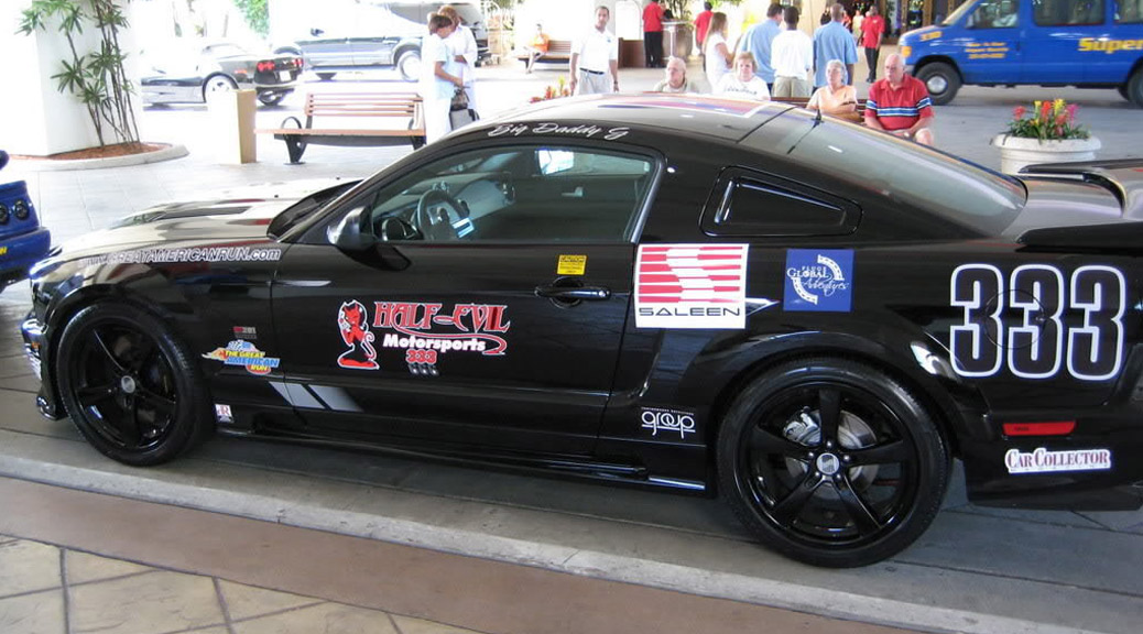 The great american run saleen owners and enthusiasts for Cross country motor club phone number