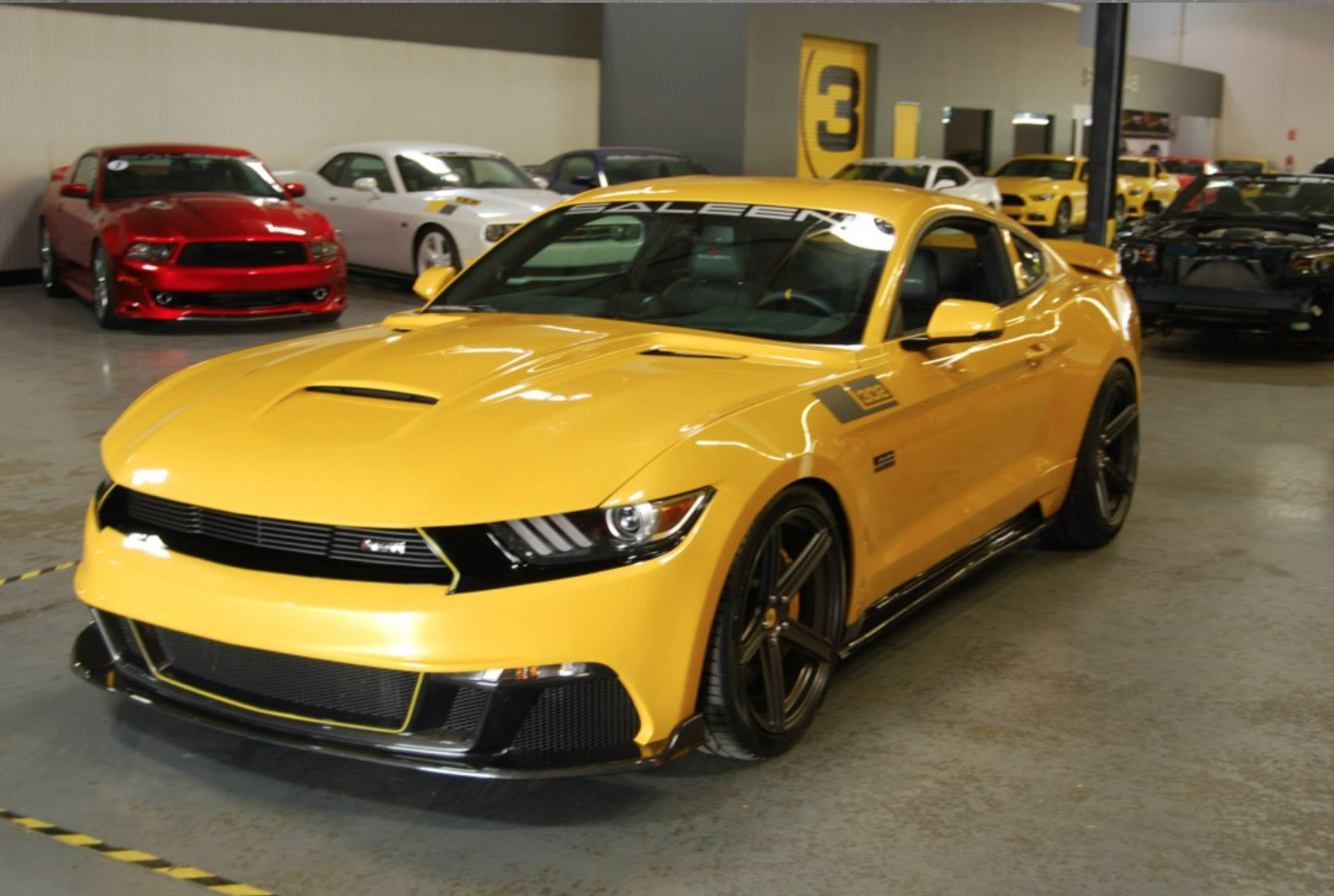 2015 Saleen 302 Black Label Supercharged