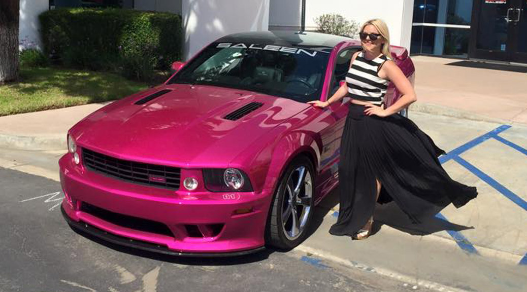 Molly & MollyPop at the 19th Annual Saleen Show