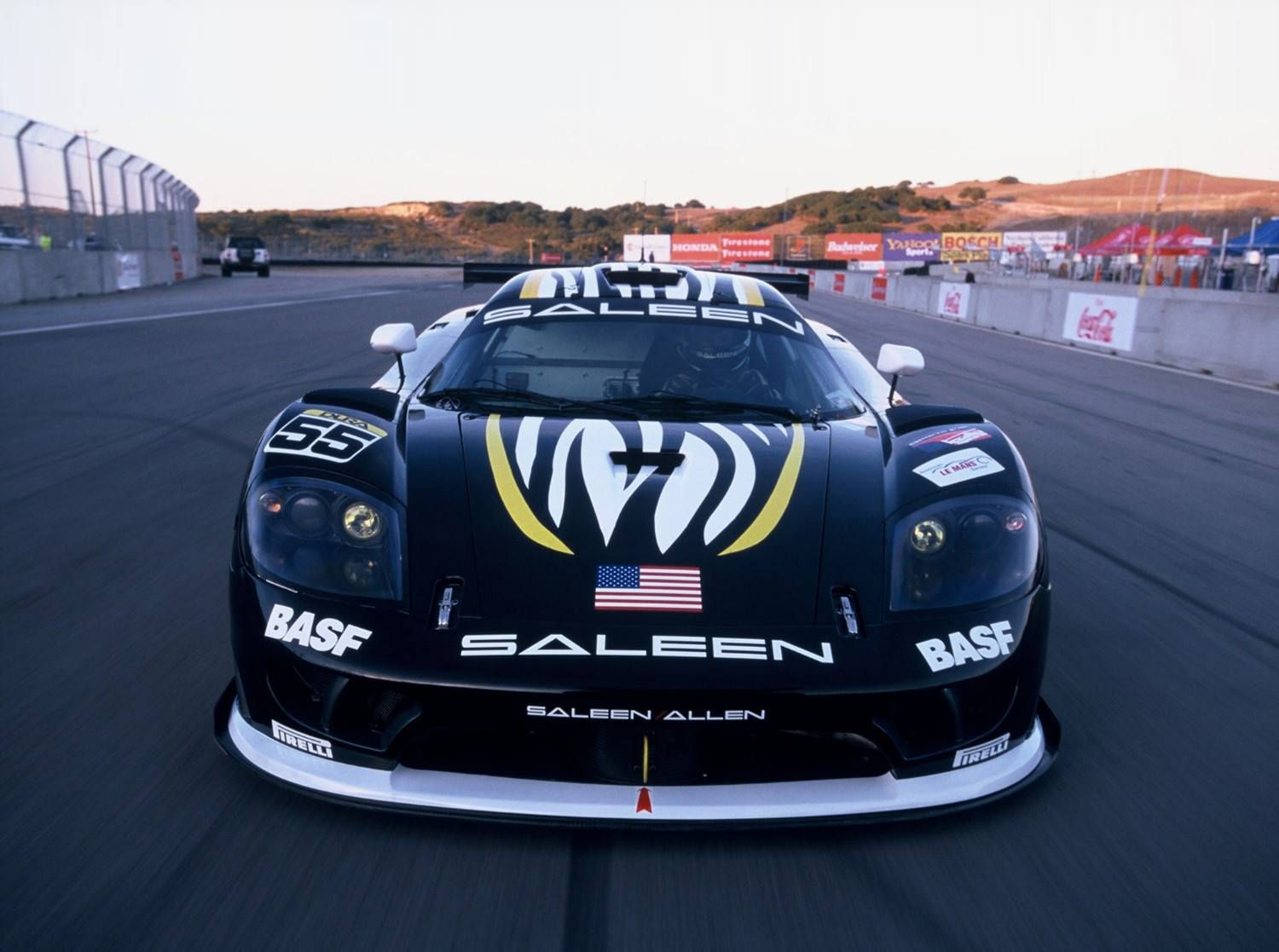 S7R Saleen team car