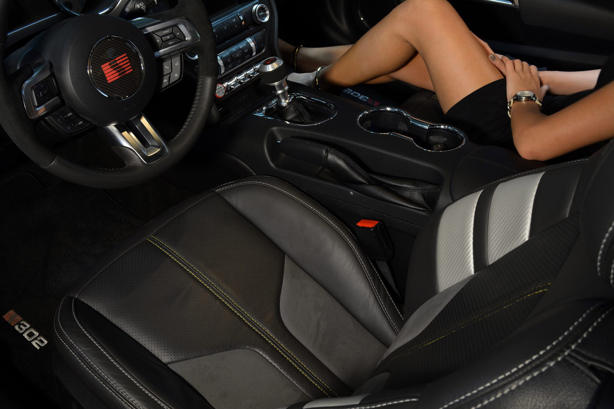 Saleen 302 Black Label interior