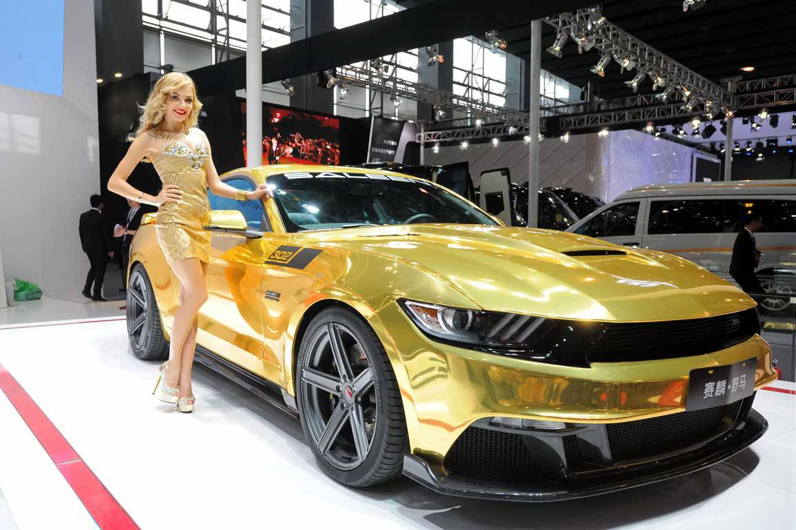 Saleen exhibits 2015 guangzhou auto show saleen owners - Auto motor show ...