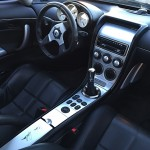 No-nonsense Saleen interior