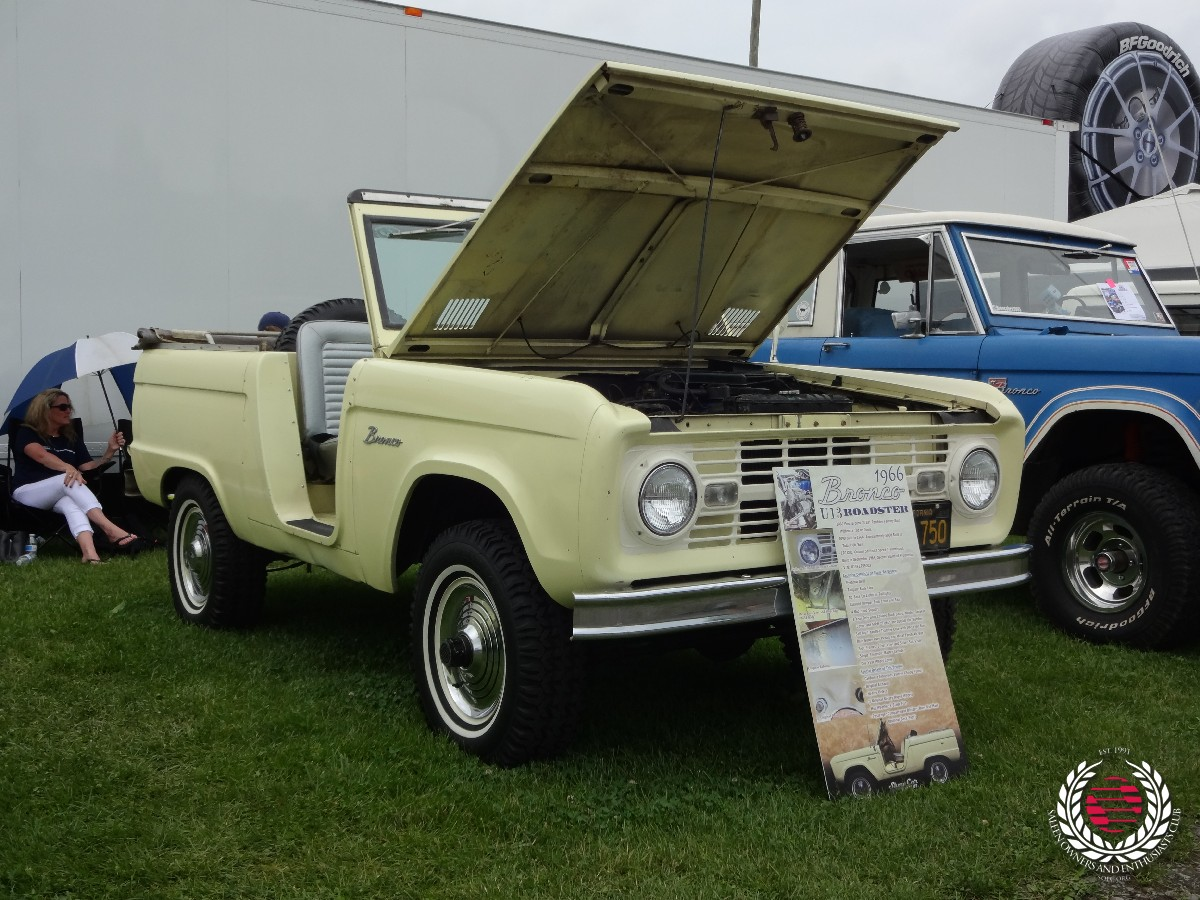 Award winning Andy Bentinck-Smith's 1966 Ford Bronco
