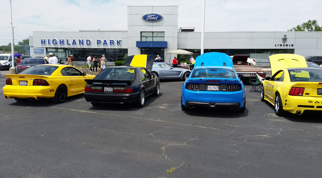 Highland Park Ford Show 2016