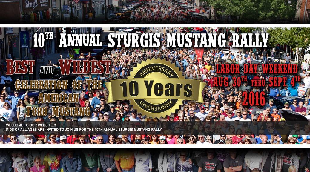 2016 Sturgis Mustang Rally
