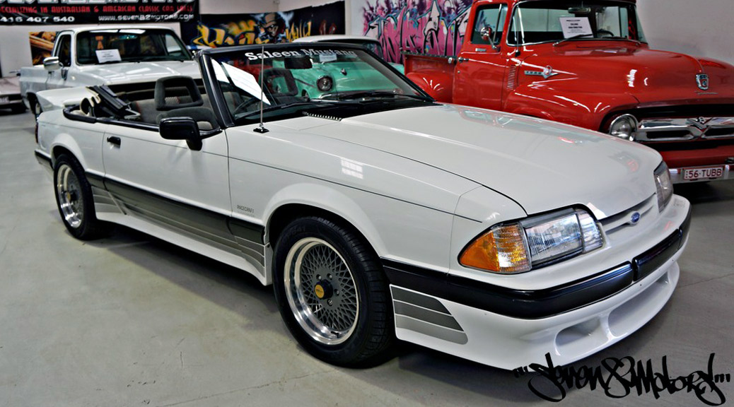 88-0689 Saleen Mustang convertible on eBay AU
