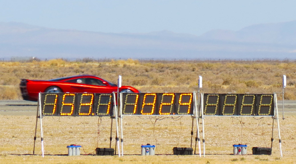 S7 Twin Turbo at Mojave Mile