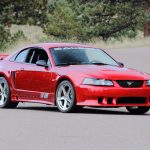 2001 Ford Mustang Saleen coupe (Mecum)