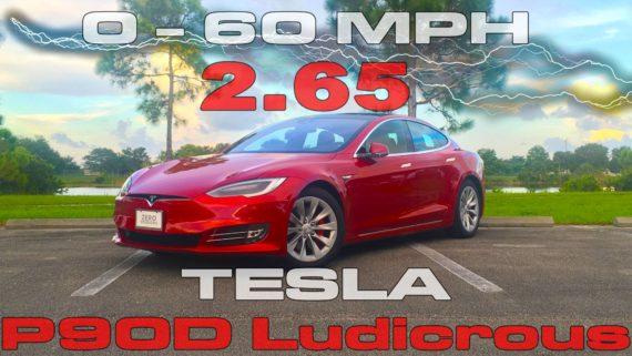 New Tesla Model S jets to 60 mph