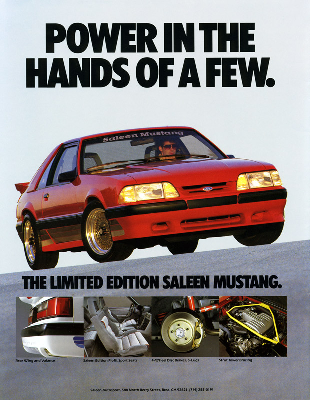 1987 Saleen Mustang