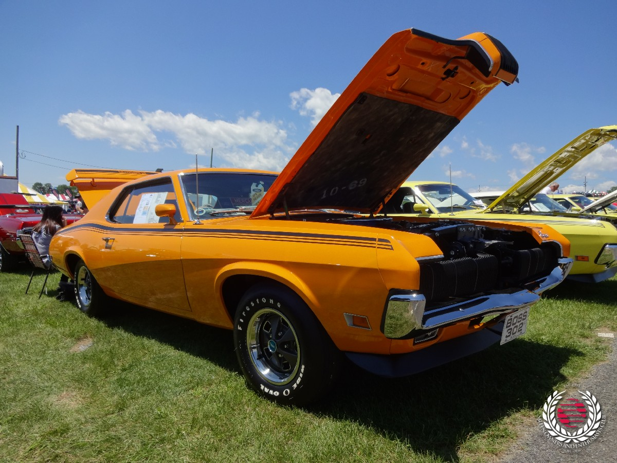 Award winning Thomas Wilds' 1970 Mercury Cougar Boss 302 Eliminator[
