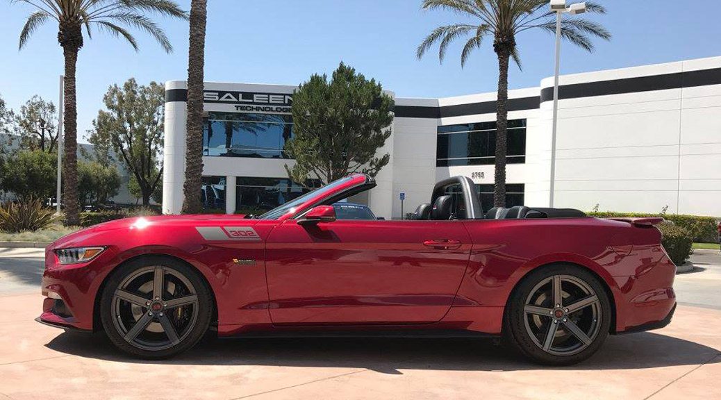 2017 S302 Yellow Label convertible, Ruby Red