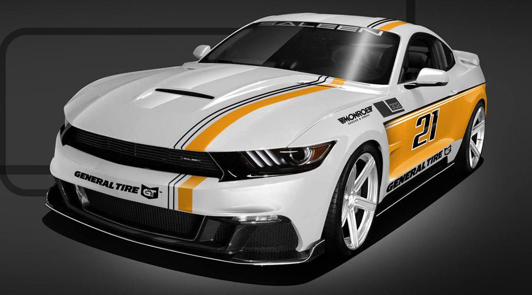 Saleen Championship Anniversary Mustangs Reveal in Seattle