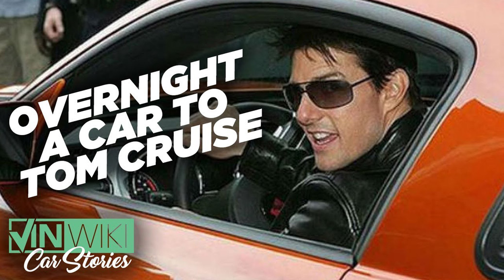 Tom Cruise and the Airmail Saleen