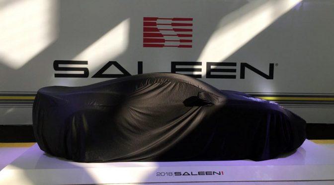 Saleen S1 at LA Auto Show