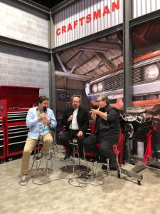 Steve Saleen at the Craftsman booth!