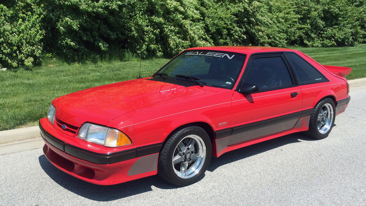 1989 Ford Mustang Saleen Fastback (Mecum)