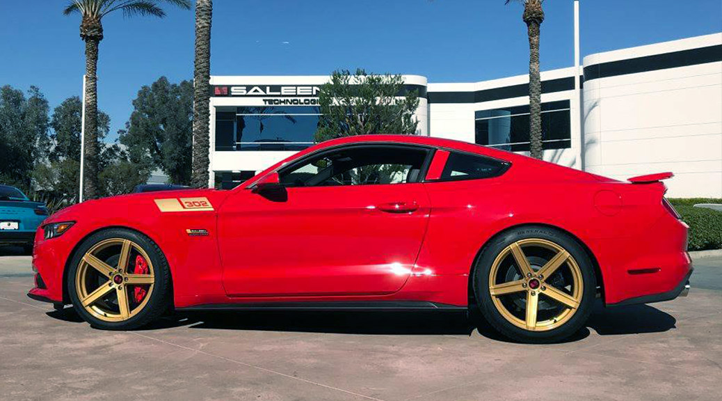 2017 S302 Yellow Label - Red & Gold
