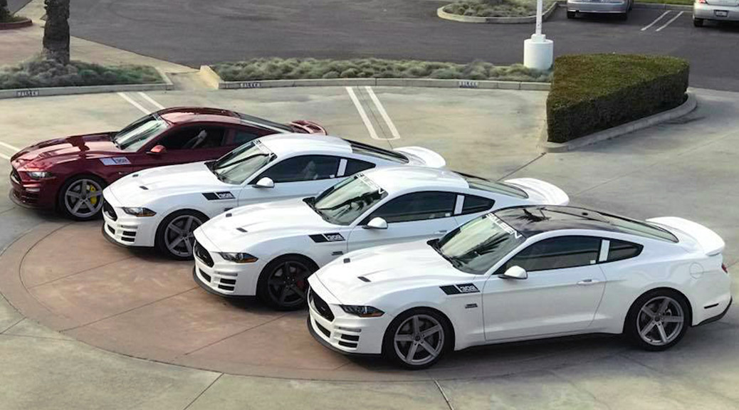 First Production 2018 Saleen Mustangs