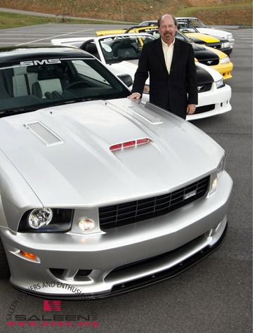 Steve Saleen Anniversary cars