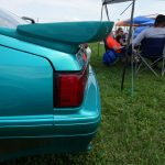 1993 Saleen Mustang rear wing