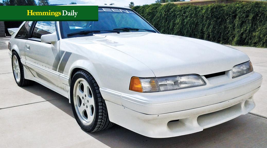 """1993 Saleen Mustang RRR """"Casper"""""""