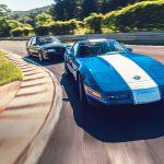1989 Saleen Mustang and 1996 Chevrolet Corvette Grand Sport, photo by DW Burnett