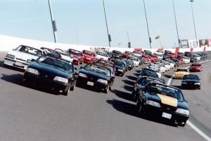 30th Anniversary Mustang Celebration: Charlotte Motor Speedway, 1994